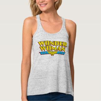 Wonder Woman Name and Logo Singlet