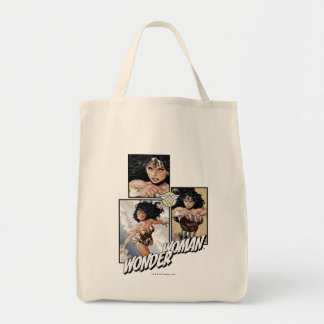 Wonder Woman New 52 Comic Art Graphic Tote Bag