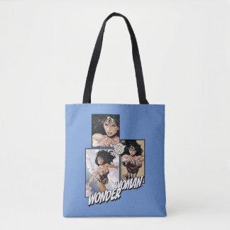 Wonder Woman New 52 Comic Art Graphic Tote Bag