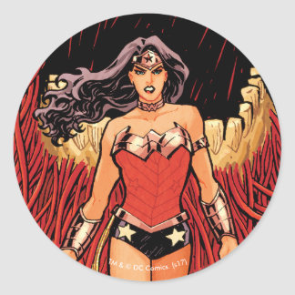 Wonder Woman New 52 Comic Cover #23 Round Sticker