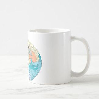 Wonder Woman Ocean Sky Coffee Mug