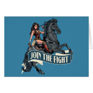Wonder Woman on Horse Comic Art Card