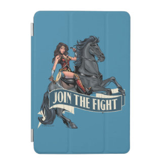 Wonder Woman on Horse Comic Art iPad Mini Cover