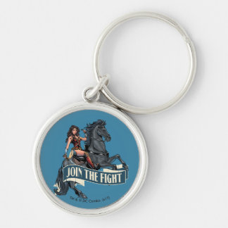 Wonder Woman on Horse Comic Art Key Ring