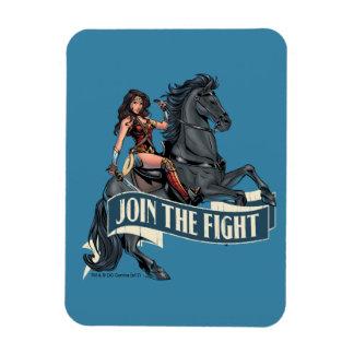 Wonder Woman on Horse Comic Art Magnet