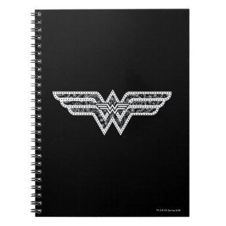 Wonder Woman Paisley Logo Notebook