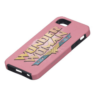 Wonder Woman Pencil Logo iPhone 5 Cover