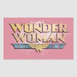 Wonder Woman Pencil Logo Stickers
