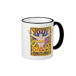 Wonder Woman Poster Ringer Mug