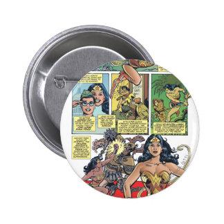 Wonder Woman Princess Diana Pinback Buttons