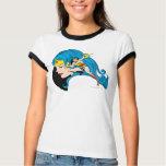 Wonder Woman Profile Background Shirt