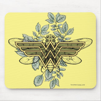 Wonder Woman Queen Bee Logo Mouse Pad