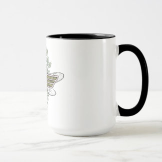 Wonder Woman Queen Bee Logo Mug