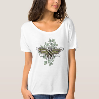 Wonder Woman Queen Bee Logo T-Shirt