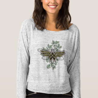 Wonder Woman Queen Bee Logo T-Shirt