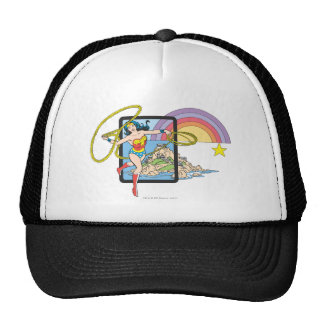 Wonder Woman Rainbow Cap