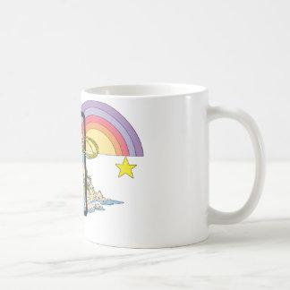 Wonder Woman Rainbow Basic White Mug