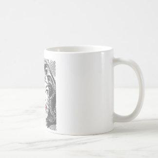 Wonder Woman Red Lips Basic White Mug