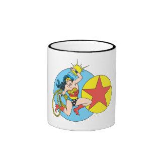Wonder Woman Red Star Mugs