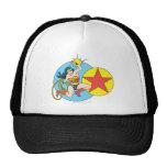 Wonder Woman Red Star Trucker Hat