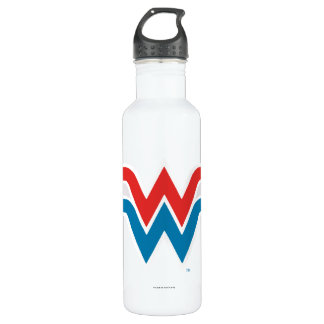 Wonder Woman Red White and Blue Logo 710 Ml Water Bottle