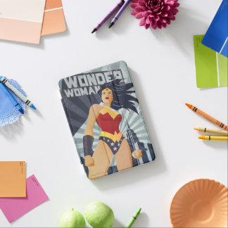 Wonder Woman Retro City Sunburst iPad Mini Cover