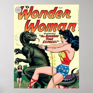 Wonder Woman Runaway Time Express Poster