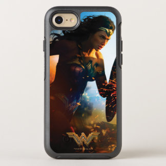 Wonder Woman Running on Battlefield OtterBox Symmetry iPhone 7 Case