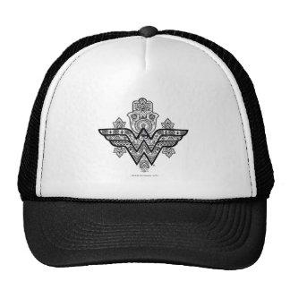 Wonder Woman Spiritual Paisley Hamsa Logo Cap