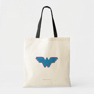 Wonder Woman Spray Paint Logo Budget Tote Bag