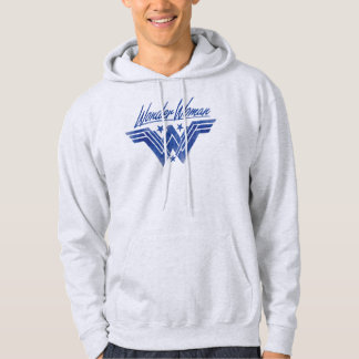 Wonder Woman Stacked Stars Symbol Hoodie