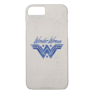 Wonder Woman Stacked Stars Symbol iPhone 8/7 Case