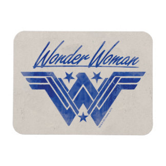 Wonder Woman Stacked Stars Symbol Magnet