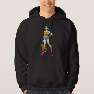 Wonder Woman Standing Hoodie