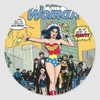 Wonder Woman Starring Pat Carbine Stickers