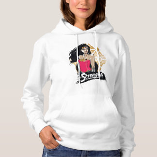 Wonder Woman Strength Hoodie