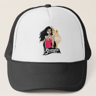 Wonder Woman Strength Trucker Hat