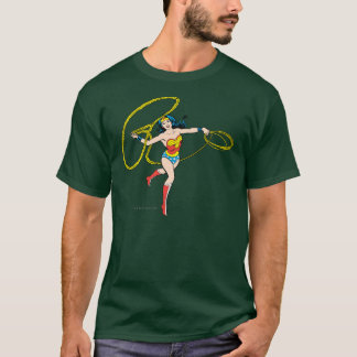 Wonder Woman Swinging Lasso T-Shirt