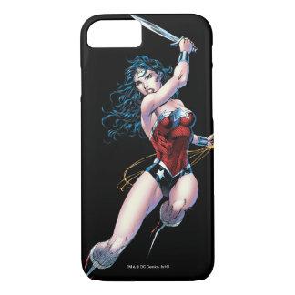 Wonder Woman Swinging Sword iPhone 7 Case
