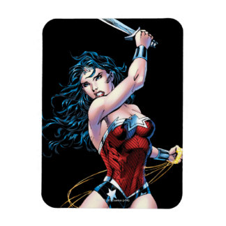 Wonder Woman Swinging Sword Magnet