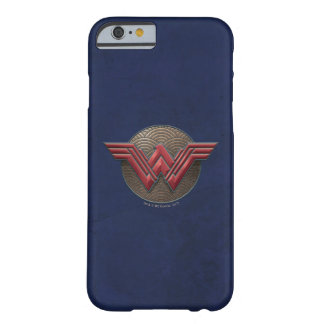 Wonder Woman Symbol Over Concentric Circles Barely There iPhone 6 Case
