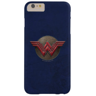 Wonder Woman Symbol Over Concentric Circles Barely There iPhone 6 Plus Case