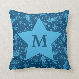Wonder Woman Symbol Pattern | Monogram Cushion