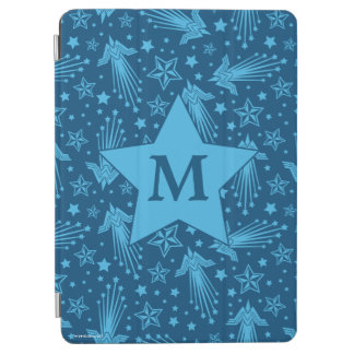 Wonder Woman Symbol Pattern | Monogram iPad Air Cover