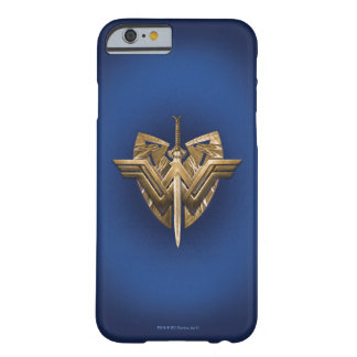 Wonder Woman Symbol With Sword of Justice Barely There iPhone 6 Case
