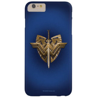 Wonder Woman Symbol With Sword of Justice Barely There iPhone 6 Plus Case