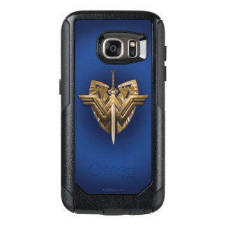 Wonder Woman Symbol With Sword of Justice OtterBox Samsung Galaxy S7 Case