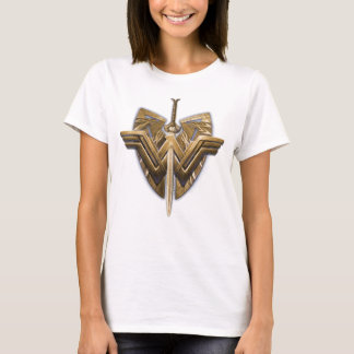 Wonder Woman Symbol With Sword of Justice T-Shirt