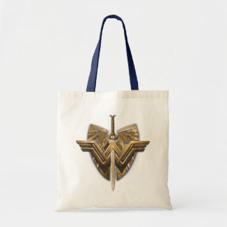 Wonder Woman Symbol With Sword of Justice Tote Bag