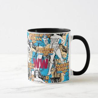 Wonder Woman Toss Pattern Mug